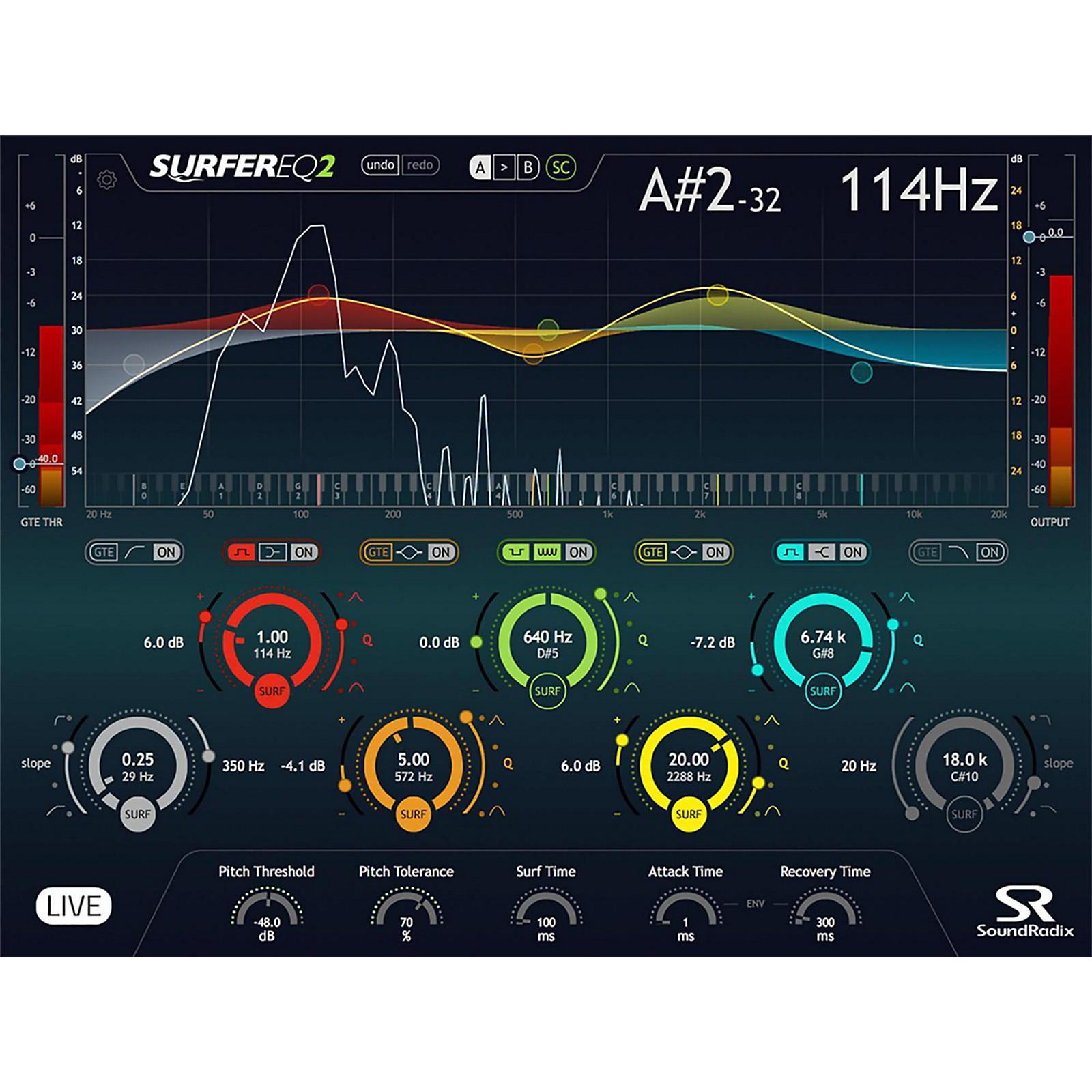 Sound Radix SurferEQ 2