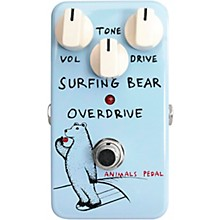 Animals Pedal Surfing Bear Overdrive Effects Pedal