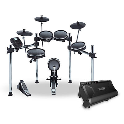 Simmons Surge Mesh Electronic Drum Kit and Simmons DA2110 Drum Set Monitor