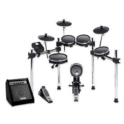 Alesis Surge Mesh-Head Electronic Drum Set with Simmons DA50B Bluetooth Monitor
