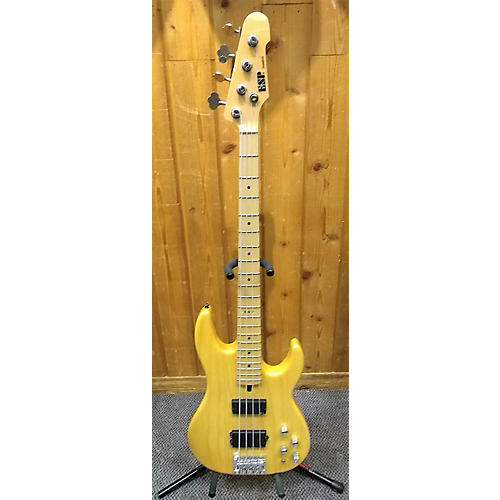 ESP Surveyor Standard Electric Bass Guitar Natural