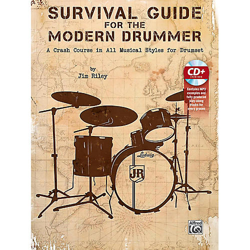 Alfred Survival Guide for the Modern Drummer Book & CD