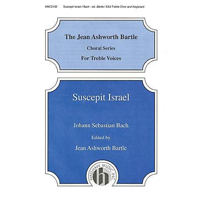 Hinshaw Music Suscepit Israel SSA composed by Johann Sebastian Bach