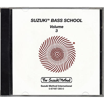 Alfred Suzuki Bass School CD Volume 3