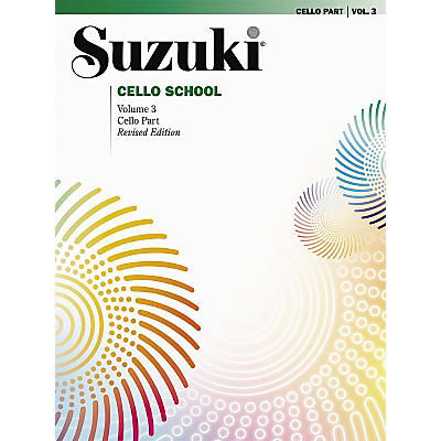 Alfred Suzuki Cello School Cello Part, Volume 3 Book