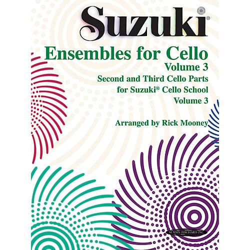 Alfred Suzuki Ensembles for Cello Volume 3 (Book)