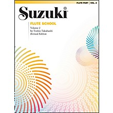 Alfred Suzuki Flute School Flute Part Volume 2 Volume 2 (Revised)