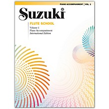 Suzuki Suzuki Flute School International Edition Piano Acc., Volume 1