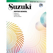 Suzuki Suzuki Guitar School Guitar Part & CD, Volume 1 Book & CD Revised