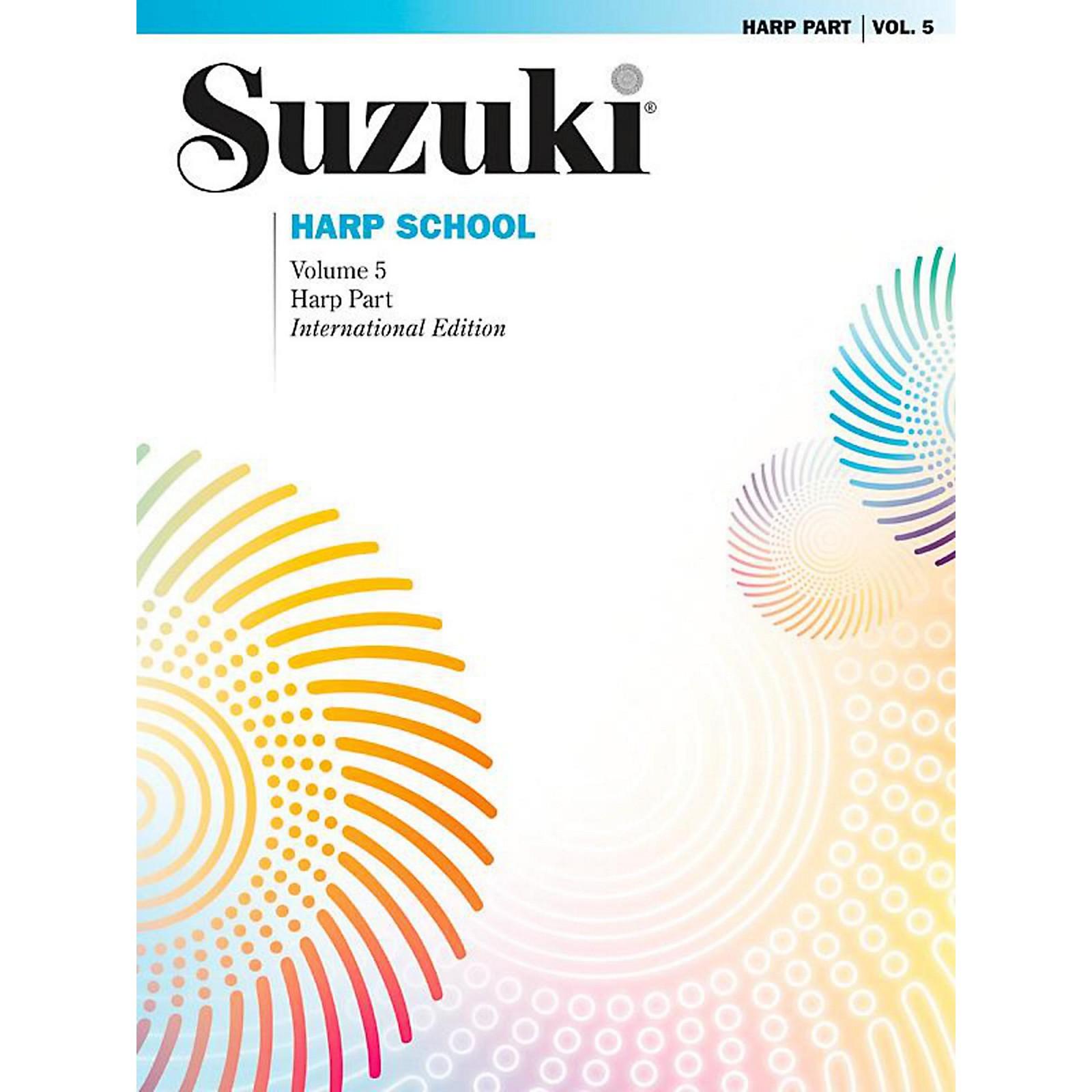 Suzuki Suzuki Harp School, Volume 5 Book