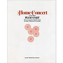 Alfred Suzuki Home Concert Piano Part (Revised)