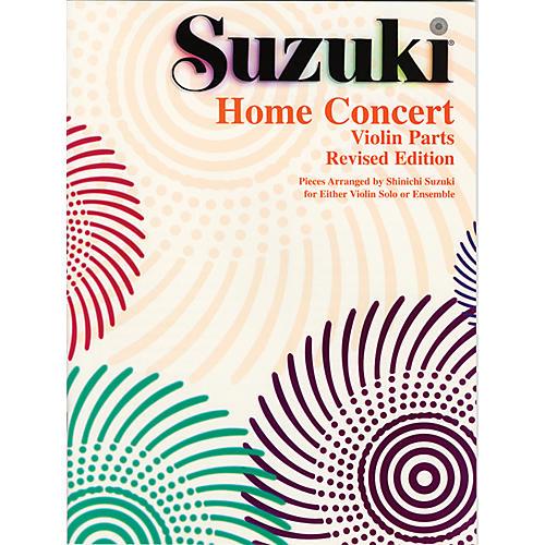 Alfred Suzuki Home Concert Violin Part Revised