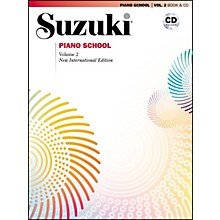 Suzuki Suzuki Piano School New International Edition Piano Book and CD Volume 2