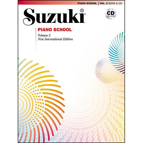Suzuki Suzuki Piano School New International Edition Piano Book and CD Volume 2