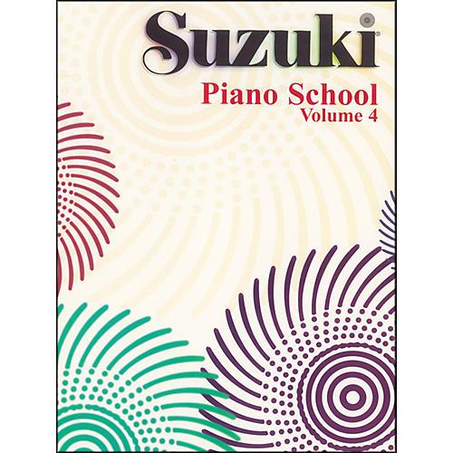 Suzuki Suzuki Piano School Piano Book Volume 4