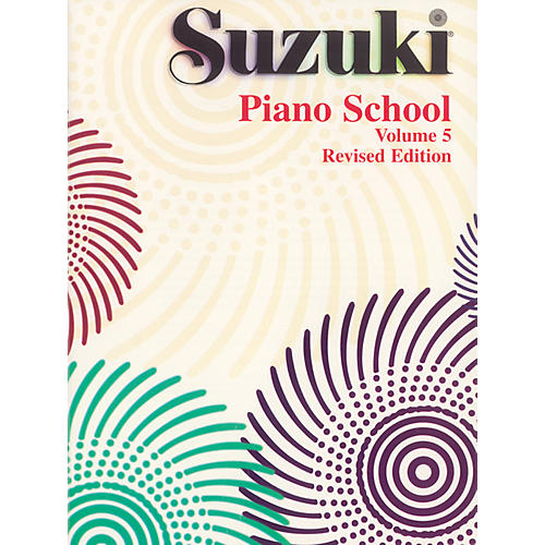 Suzuki Suzuki Piano School Piano Book Volume 5