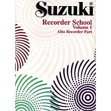 Alfred Suzuki Recorder School (Alto Recorder) Recorder Part Volume 1