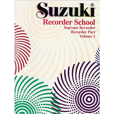 Alfred Suzuki Recorder School (Soprano Recorder) Recorder Part Volume 1