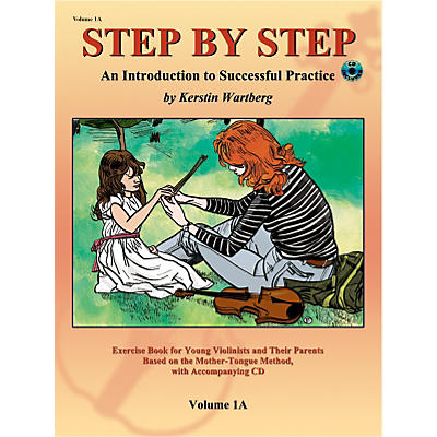 Alfred Suzuki Step by Step 1A: An Introduction to Successful Practice for Violin Book/CD