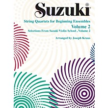 Alfred Suzuki String Quartets for Beginning Ensembles Volume 2 (Book)