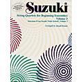Alfred Suzuki String Quartets for Beginning Ensembles Volume 3 (Book) thumbnail