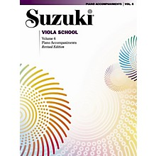 Alfred Suzuki Viola School Piano Accompaniments