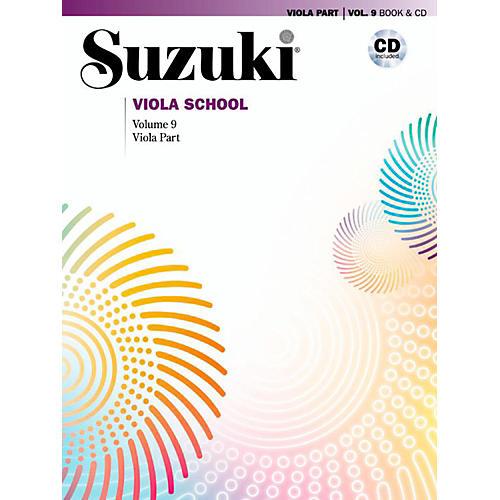 Suzuki Suzuki Viola School Viola Part Book & CD Volume 9