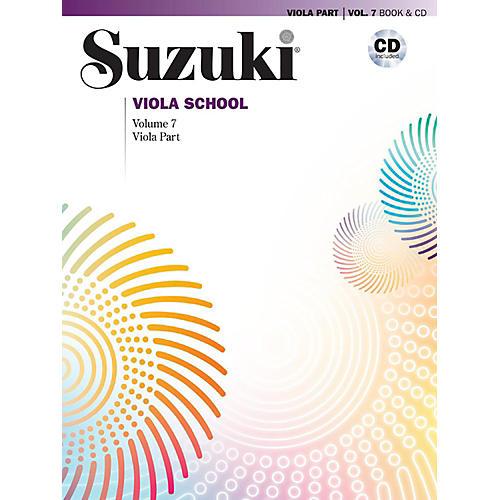 Alfred Suzuki Viola School Viola Part & CD - Volume 7 Book & CD