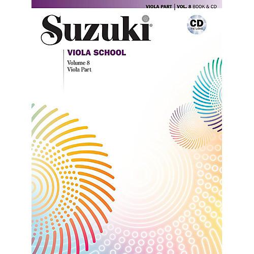 Alfred Suzuki Viola School Viola Part & CD - Volume 8 Book & CD