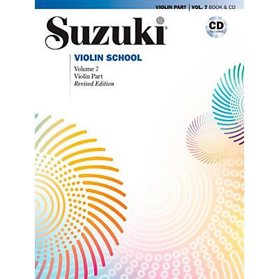Suzuki Suzuki Violin School Book & CD Volume 7 (Revised)