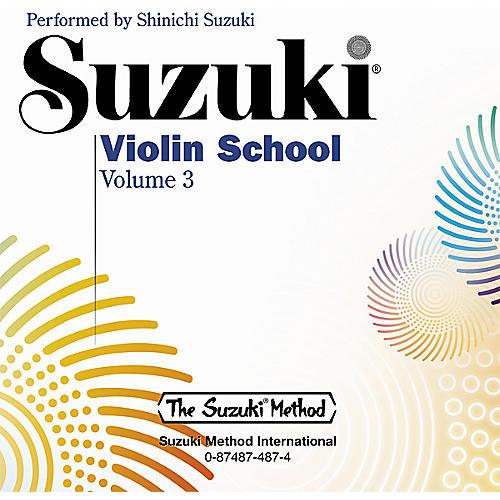 Alfred Suzuki Violin School CD, Volume 3