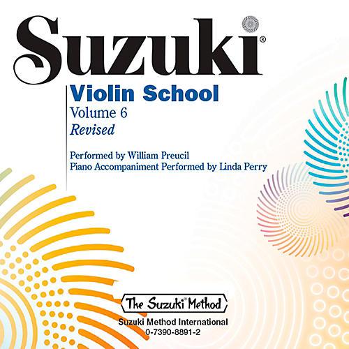 Alfred Suzuki Violin School CD Volume 6 Revised