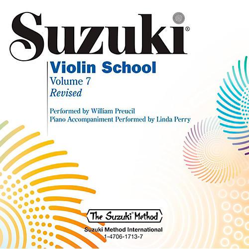 Suzuki Suzuki Violin School CD Volume 7 (Revised)