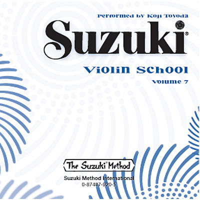 Alfred Suzuki Violin School CD, Volume 7