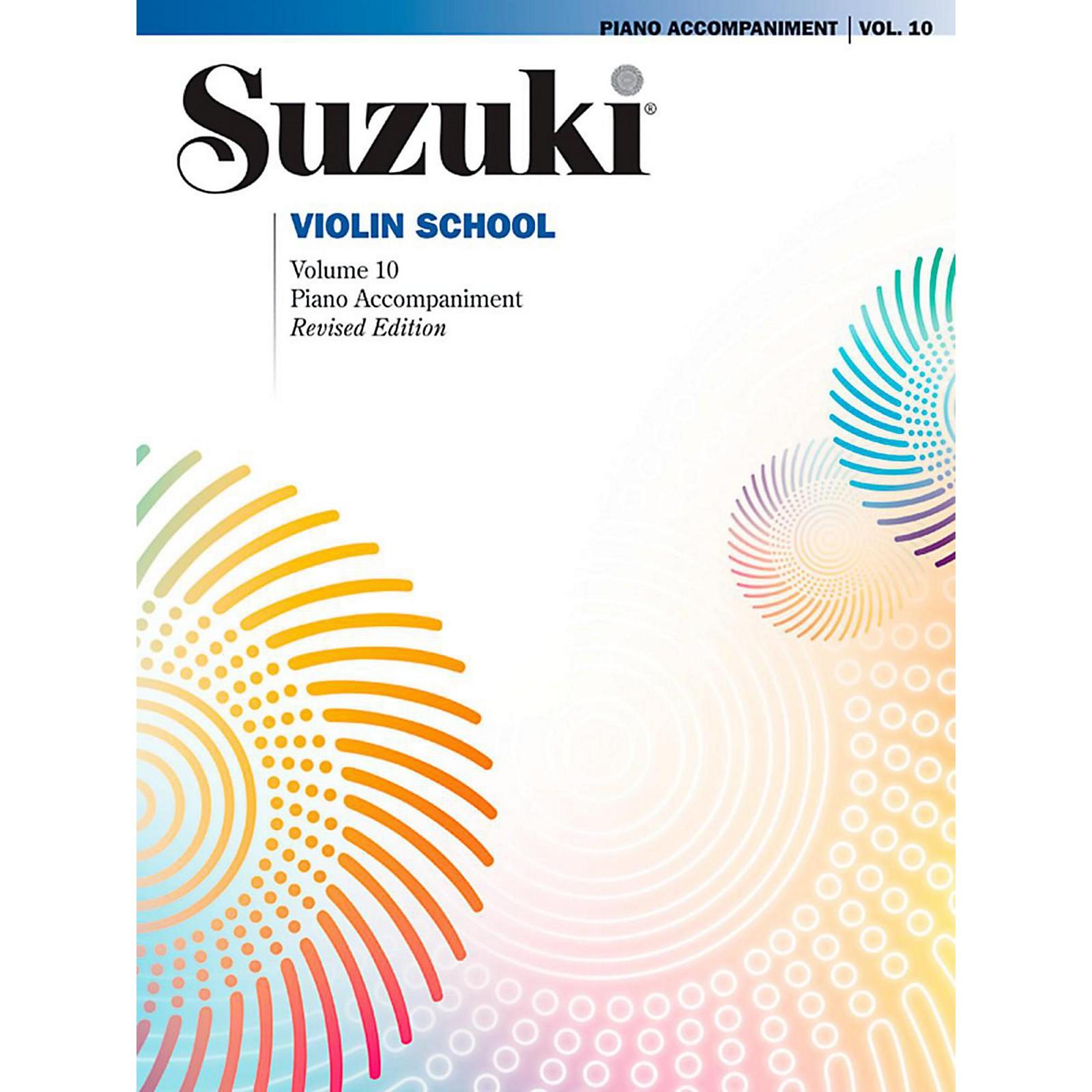 Suzuki Suzuki Violin School Piano Acc. Volume 10 Book