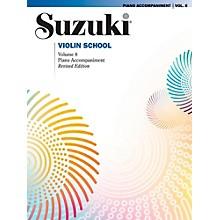 Suzuki Suzuki Violin School Piano Acc. Volume 8 Book