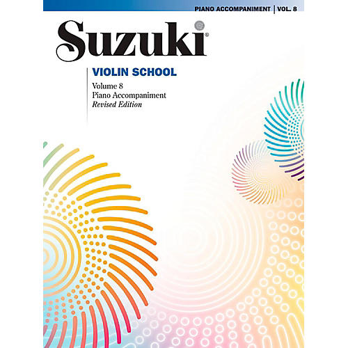 Suzuki Suzuki Violin School Piano Acc. Volume 8 Book