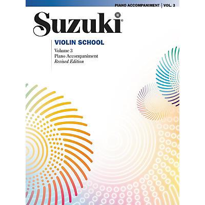 Alfred Suzuki Violin School Piano Accompaniment Volume 3