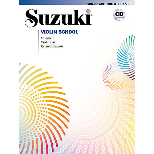 Alfred Suzuki Violin School Violin Part & CD Volume 3