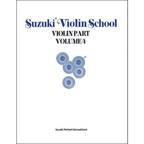 Alfred Suzuki Violin School Violin Part Volume 4 (Book)