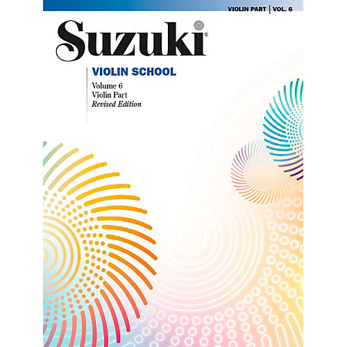 Alfred Suzuki Violin School Violin Part Volume 6 Revised Book