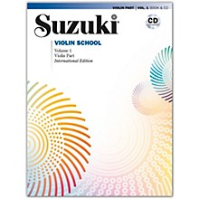 Suzuki Suzuki Violin School, Volume 1 Book & CD