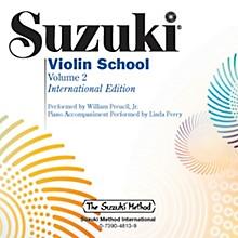 Suzuki Suzuki Violin School, Volume 2 Perf./Acc. CD