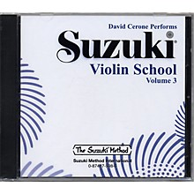 Alfred Suzuki Violin School Volume 3 (CD)