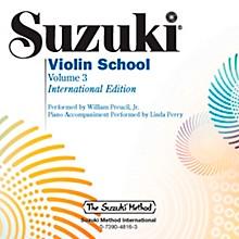 Suzuki Suzuki Violin School, Volume 3 Perf./Acc. CD