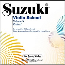 Alfred Suzuki Violin School Volume 5 Revised (CD)