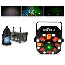 CHAUVET DJ Swarm 5 FX with Hurricane 700 Fog Machine and Juice