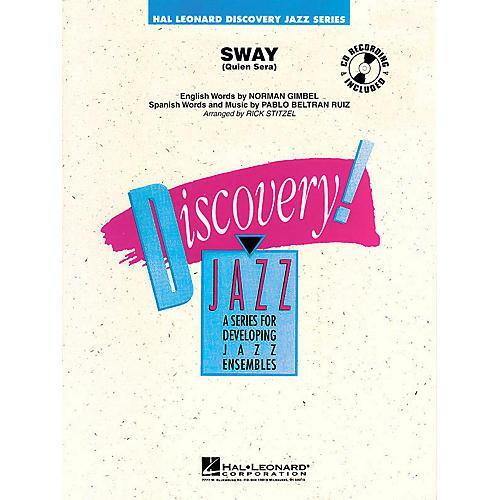 Hal Leonard Sway (Quien Será) Jazz Band Level 1.5 Arranged by Rick Stitzel