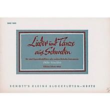 Schott Swedish Songs And Dances Recorders SS