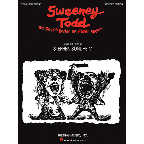 Hal Leonard Sweeney Todd Vocal Selections